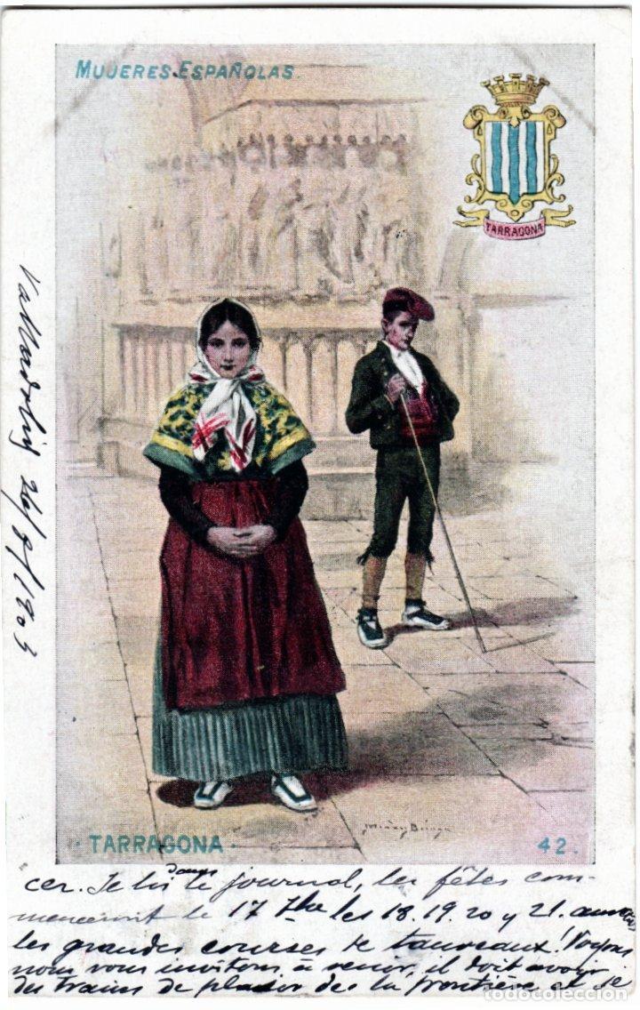 Postales: PRECIOSA COLECCION COMPLETA - 50 POSTALES - MUJERES ESPAÑOLAS - S. CALLEJA - MADRID - - Foto 84 - 236042980