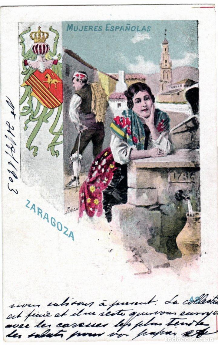 Postales: PRECIOSA COLECCION COMPLETA - 50 POSTALES - MUJERES ESPAÑOLAS - S. CALLEJA - MADRID - - Foto 98 - 236042980