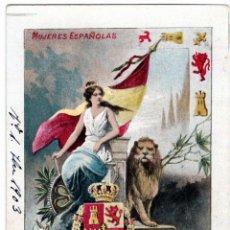 Postales: PRECIOSA COLECCION COMPLETA - 50 POSTALES - MUJERES ESPAÑOLAS - S. CALLEJA - MADRID -. Lote 236042980