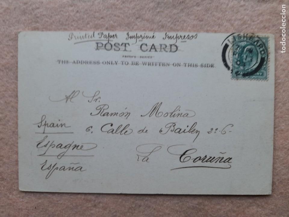 Postales: Piedras Druídicas. Franqueada el 13 de Febrero de 1903. - Foto 2 - 236600470