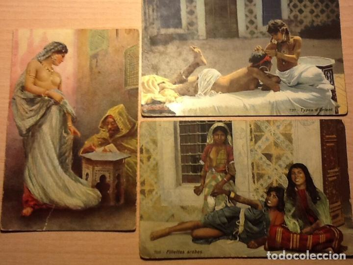 3 POSTALES ETNICAS (Postales - Postales Temáticas - Étnicas)