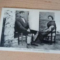 Postales: ALDEANOS DE TARRAGONA.. Lote 238456955