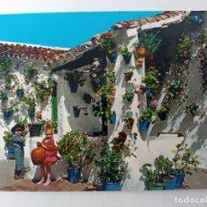 Postales: TARJETA POSTAL Nº 1.897. PATIO TIPICO ANDALUZ. SAVIR. Lote 238643415