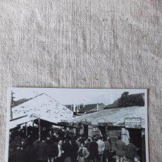 Postales: 1951 CASETAS DO PULPO CAMPO FERIA. Lote 238737085