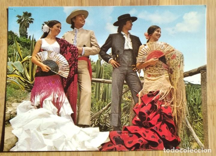 FOLKLORE ANDALUZ (Postales - Postales Temáticas - Étnicas)