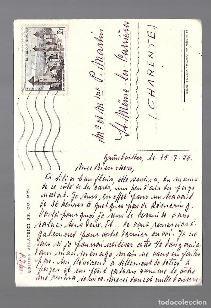Postales: 1R- POSTAL ANTIGUA DE - UN NIÑO - CIRCULADA EL 27 - 7 - 1.956 - Foto 2 - 239987390