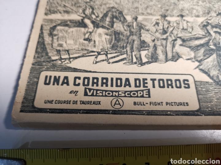 Postales: Álbum de 10 postales Una corrida de Toros en Visionscope. Bull Fight - Foto 2 - 240015205