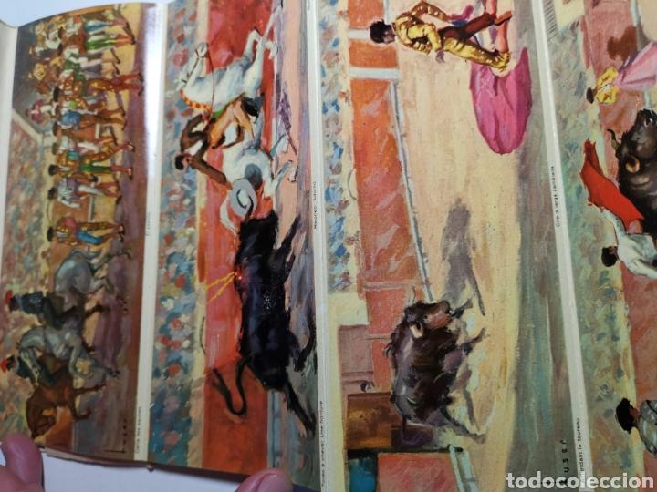 Postales: Álbum de 10 postales Una corrida de Toros en Visionscope. Bull Fight - Foto 4 - 240015205
