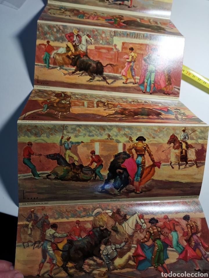Postales: Álbum de 10 postales Una corrida de Toros en Visionscope. Bull Fight - Foto 6 - 240015205