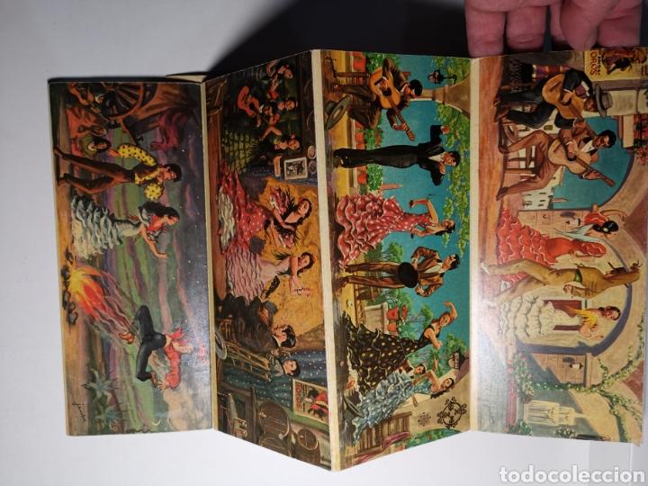 Postales: Álbum colección de 10 postales alargadas Danzas de Andalucía, Visionscope - Foto 9 - 240059305
