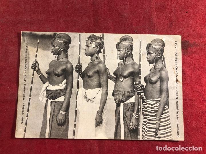 TARJETA POSTAL AFRICANA (Postales - Postales Temáticas - Étnicas)