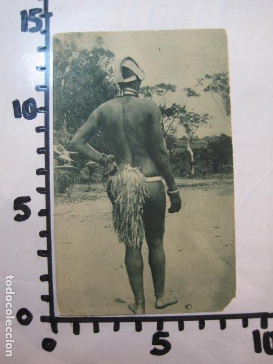 Postales: GUINEA CONTINENTAL-MUJER DE LA TRIBU EXAMBIRA-POSTAL ANTIGUA-(77.581) - Foto 3 - 241113065