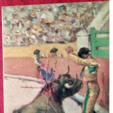 Postales: TAUROMAQUIA. 13 UN PAR EN LAS TABLAS. B. SIRVEN.. Lote 241505985