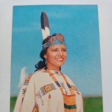 Postales: TARJETA POSTAL. USA. INDIAN MAID. P25958. LASTICHROME. POST CARD. INDIOS. Lote 241978440