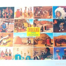 Postales: TARJETA POSTAL. USA. INDIANS OF THE SOUTHWEST. PETLEY GREETINGS. POST CARD. PSW-1530. INDIOS. Lote 241979770
