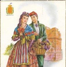 Postales: POSTAL VESTIDO TIPICO DE TARRAGONA. Lote 243680150