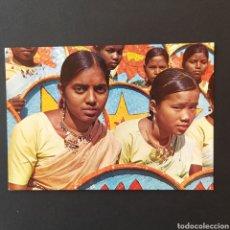 Postales: POSTAL ANTIGUA INDIA DANZA ASAMESA VC001. Lote 244504530