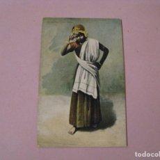 Postales: ANTIGUA POSTAL. SALAAMS FROM INDIA. PRINTED IN BAVARIA.. Lote 245090715