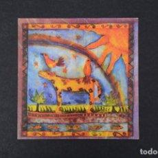 Postales: POSTAL TIGRE CON PÁJAROS GREENPEACE PAPERLINK 1993 SIN CIRCULAR. Lote 254608850