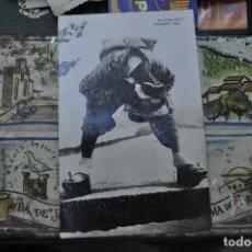 Postales: POSTAL CON FECHA 15.05.1916. ORIENTAL. NO ESCRITA. ESTUVO ENGANCHADAS EN ALBUM. Lote 255587850