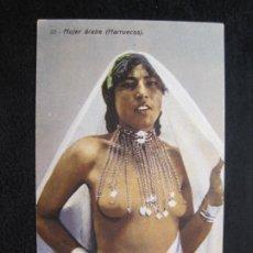 Postales: DESNUDO-TIPO ARABE-TIPO ORIENTE-EDICION BOIX HERMANOS-POSTAL ANTIGUA-(79.800). Lote 257301910