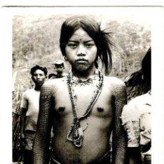 Cartoline: FILIPINAS - PHILIPPINES 1930 - KALINGA GIRL - THE AMSTERDAM TATTOO MUSEUM 1996 - 161X114MM. -INÉDITA. Lote 259888165
