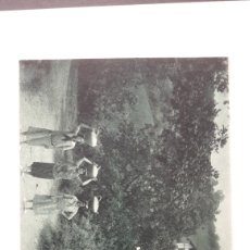 Postales: POSTAL COSTUMBRES VASCAS. FOTOTIPIA DELBOY. Lote 260742815