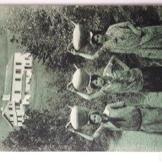 Postales: POSTAL COSTUMBRES VASCAS. FOTOTIPIA DELBOY. Lote 260743025