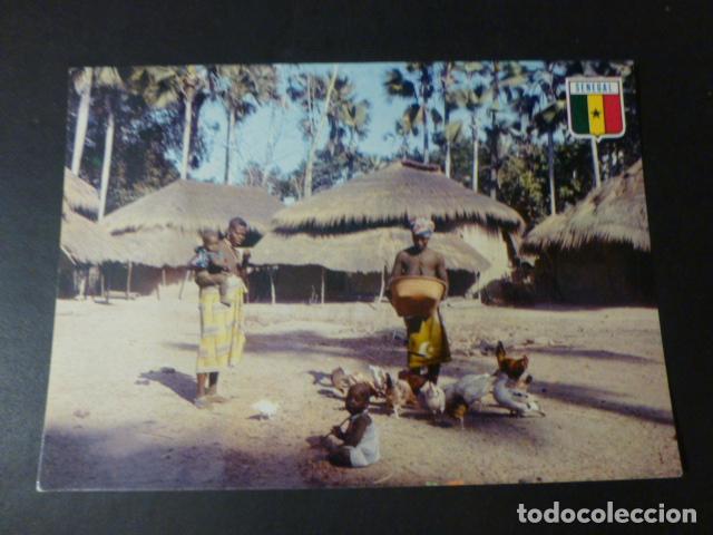 SENEGAL AFRICA POSTAL ETNICA (Postales - Postales Temáticas - Étnicas)