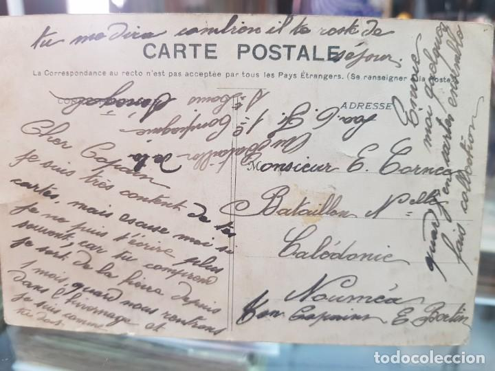Postales: ANTIGUA POSTAL ETNICA MUJER NEGRA MALINKE AFRICA OCCIDENTAL - Foto 2 - 261812920