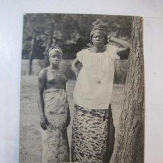 Postales: DESNUDO-TIPO AFRICA-AFRICANAS-ND PHOT-CIRCULADA-POSTAL ANTIGUA-(80.627). Lote 262806390