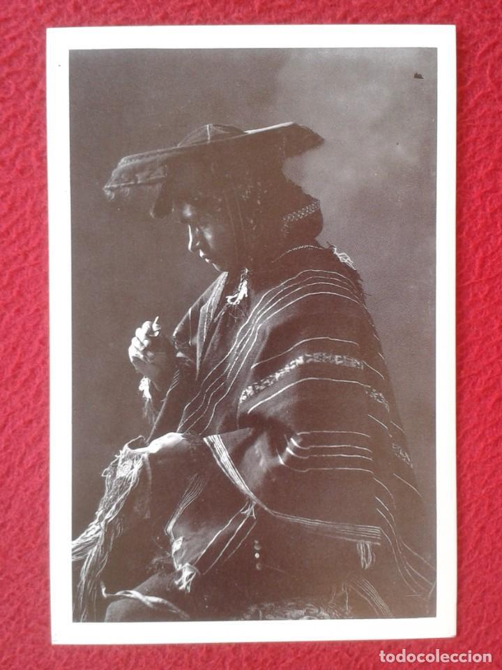 POSTAL MIGUEL QUISPE LIDER CAMPESINO CUSCO CUZCO PERÚ 1933 MARTIN CHAMBI ENACO SA COCA MUNDO ANDINO (Postales - Postales Temáticas - Étnicas)