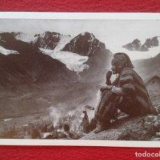 Postales: POSTAL CAMPESINO EN Q´OYLLORITTI OCONGATE CUSCO PERÚ 1934 MARTIN CHAMBI ENACO S.A. COCA MUNDO ANDINO. Lote 265514684