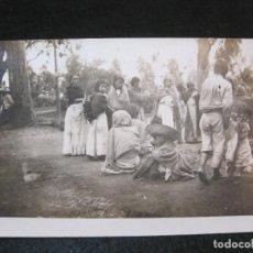 Postales: GRUPO DE INDIGENAS-FOTOGRAFICA-POSTAL ANTIGUA-(81.333). Lote 267100744