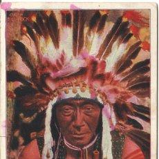 Postales: CANADA 1904 - SIN DIVIDIR - CIRCULADA - JEFE INDIO. Lote 268299504