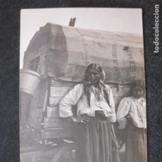 Postales: MUJER FUMANDO EN PIPA-FOTOGRAFICA-POSTAL ANTIGUA-(81.542). Lote 268449594