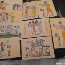 Postales: 9 POSTALES DE EGIPTO. Lote 276698963