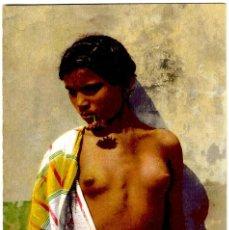 Postales: JOVEN NEGRA (MARRUECOS) - FOTO: LEHNERT & LANDROCK Nº 34 - COLOREADA - 138X90 MM.. Lote 278476668
