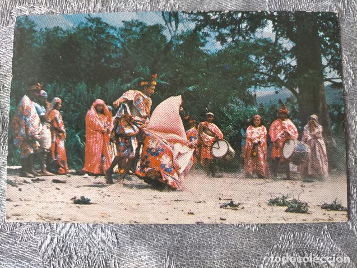 GOAJIROS - BAILE DE LA CHICHAMAYA - VENEZUELA POSTCARD (Postales - Postales Temáticas - Étnicas)