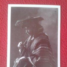Postales: POSTAL MIGUEL QUISPE LIDER CAMPESINO CUSCO CUZCO PERÚ 1933 MARTIN CHAMBI ENACO SA COCA MUNDO ANDINO. Lote 287334038