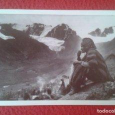 Postales: POSTAL CAMPESINO EN Q´OYLLORITTI OCONGATE CUSCO PERÚ 1934 MARTIN CHAMBI ENACO S.A. COCA MUNDO ANDINO. Lote 287335413
