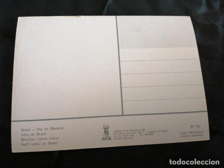Postales: BRASIL, AMAZONAS, TRIBU, ANTIGUA POSTAL.ÑZ - Foto 2 - 289838418