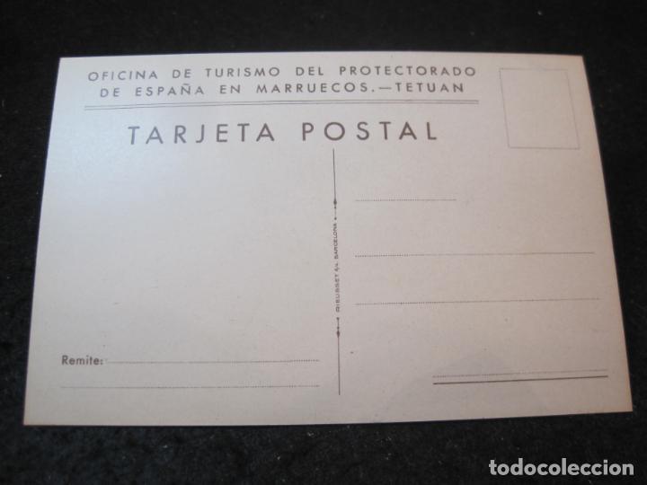 Postales: OFICINA TURISMO PROTECTORADO ESPAÑA MARRUECOS-ILUSTRADA POR ERWIN HUBERT-POSTAL ANTIGUA-(84.172) - Foto 2 - 289890278
