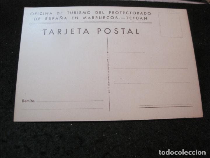 Postales: OFICINA TURISMO PROTECTORADO ESPAÑA MARRUECOS-ILUSTRADA POR ERWIN HUBERT-POSTAL ANTIGUA-(84.175) - Foto 2 - 289890813