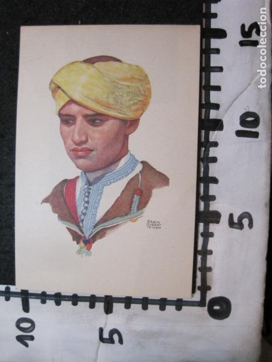 Postales: OFICINA TURISMO PROTECTORADO ESPAÑA MARRUECOS-ILUSTRADA POR ERWIN HUBERT-POSTAL ANTIGUA-(84.181) - Foto 3 - 289891073