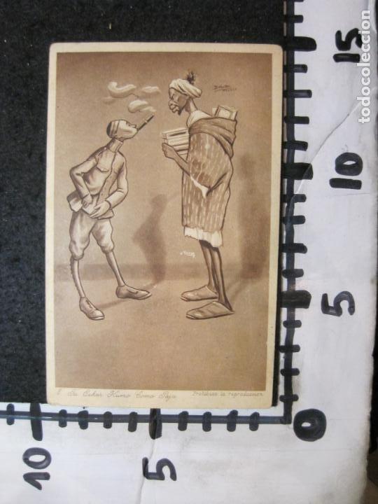 Postales: TU ECHAR HUMO COMO PAJA-EDICION 1921-D.MULLOR, MELILLA-POSTAL ANTIGUA-(84.182) - Foto 3 - 289891268