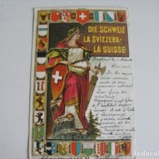 Postales: SUIZA 1899.. Lote 292044158