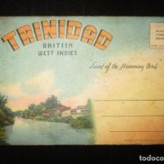 Postales: SOBRE SOUVENIR CON 18 VISTAS DE TRINIDAD Y TOBAGO. ORIGINAL AÑOS 40 O 50. MUY RARO.. Lote 292552928