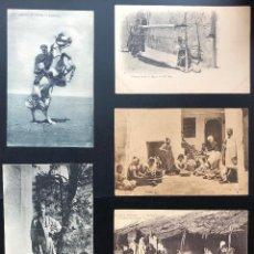 Postales: 10 POSTALES ANTIGUAS AFRICA DEL NORTE-II. Lote 293253373