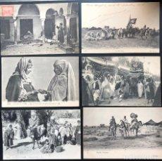 Postales: 12 POSTALES ANTIGUAS ÉTNICAS AFRICA DEL NORTE-I. Lote 293257493